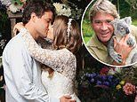 The mystery third guest at Bindi Irwin and Chandler Powell's wedding