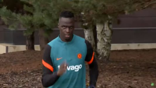 : The first man out for Chelsea training shows just why he's the best