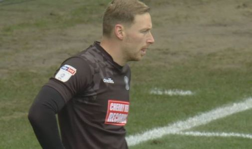 Wycombe's Ryan Allsop complains of homophobic abuse at Tranmere