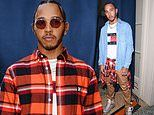 Lewis Hamilton looks effortlessly cool at Tommy Hilfiger event