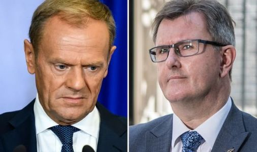 DUP chief whip savages Tusk for butchering the Good Friday Agreement - 'Now TWO borders!'