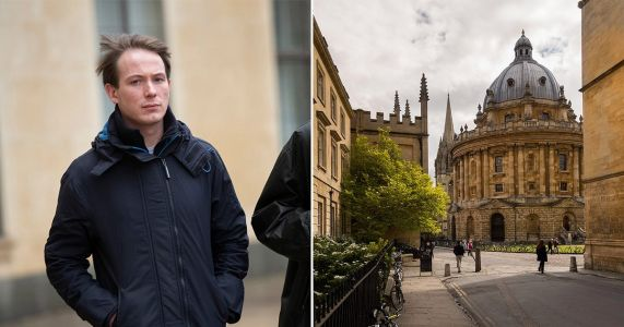 "Oxford University student 'said ""this is really awkward""' after alleged rape"