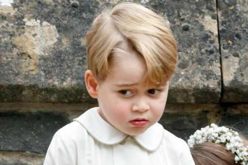 Why Prince George got a telling off from Kate at wedding - and it ended in tears