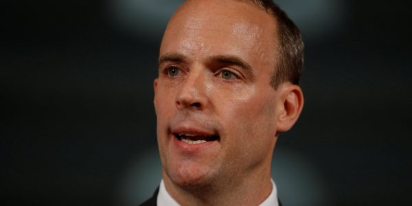 Breaking: Brexit secretary Dominic Raab resigns