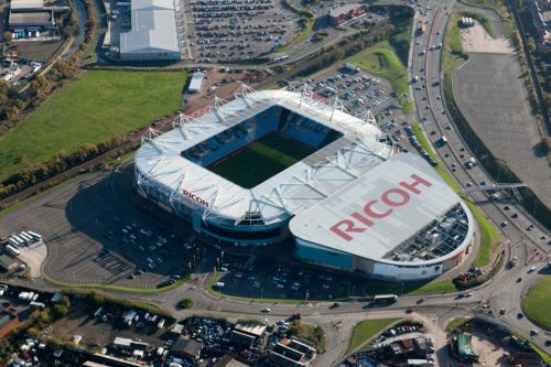 Coventry threatened to be expelled from Football League unless new ground found in two months