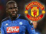 Napoli could be forced to sell Kalidou Koulibaly for cut-price £69m putting Man Utd on red alert