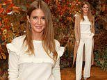 Millie Mackintosh looks chic in winter whites and a camel coat after revealing 'pregnancy pact'