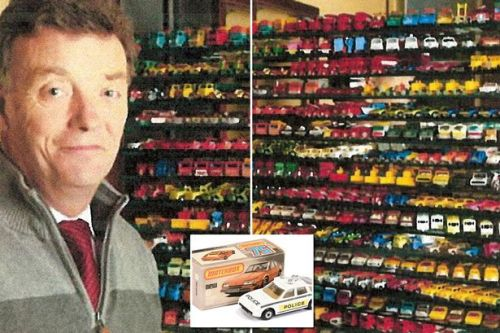 Auctioneer sells collection of almost 3,000 toy cars for eye-watering £300,000