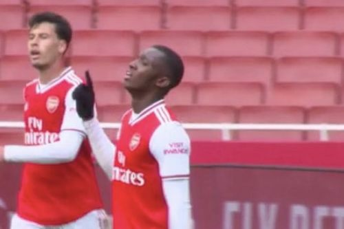 Arsenal behind-closed-doors friendly details as Nketiah hits hat-trick