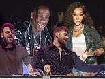 Travis Scott and The Chainsmokers perform at Bootsy Bellows x SI Circuit Series bash in Texas
