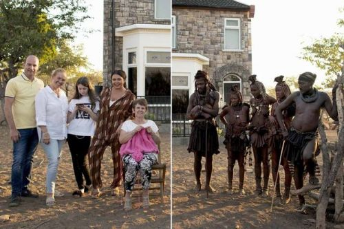 Has reality TV finally lost the plot? Scarlett Moffatt and family move into British semi rebuilt in Namibia