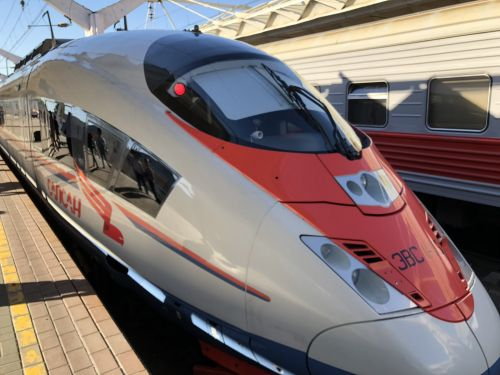 I rode a high-speed train in Russia - and it was cheaper and more convenient than taking American trains