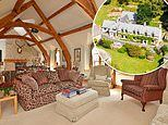 Celebrity bolthole in rural Devon owned by Joan Rivers' make-up artist goes on sale for £3.95million