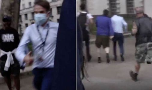Investigation launched by police after BBC journalist chased by 'disgraceful' mob