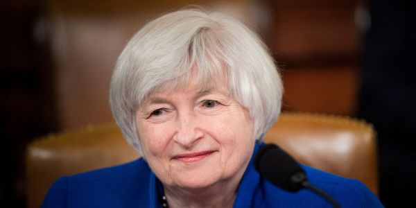 The Senate confirms Janet Yellen as America's first female Treasury chief
