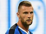 Manchester United and Manchester City on alert with Inter Milan 'ready to sell Milan Skriniar'