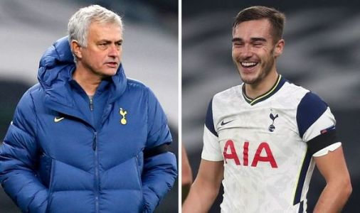 Jose Mourinho jokes why he is 'not happy' with Harry Winks after Tottenham win