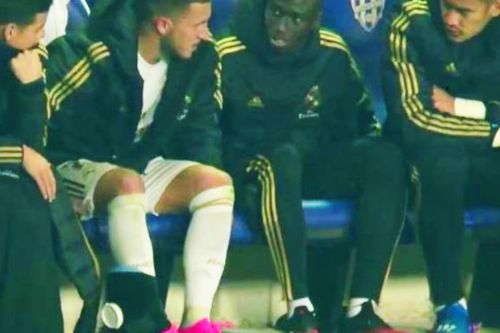 Eden Hazard's injury hell at Real Madrid continues as he limps off in Zidane's first defeat since October at Levante