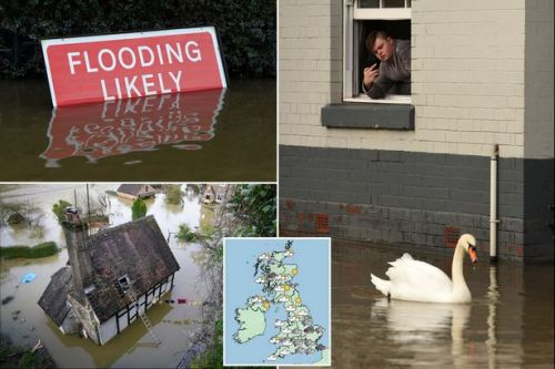 UK weather: Hundreds told to 'leave homes immediately' as more rain set to cause chaos