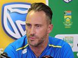 Faf du Plessis quits as South Africa captain following England's unbeaten tour
