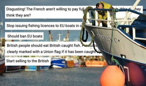 Britons furious as European trawlers plunder British seas: 'Ban EU fishing in UK waters!'