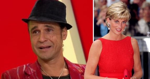 X Factor's Chico claims he was 'touched by spirit of Princess Diana and given Botox'