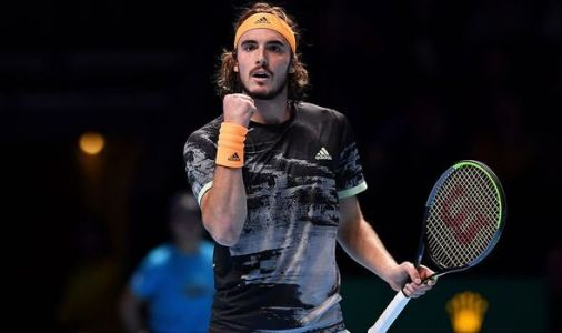 Stefanos Tsitsipas stuns Daniil Medvedev with impressive ATP Finals debut win