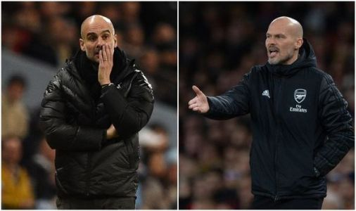Arsenal vs Man City LIVE: Team news and line ups confirmed, Ljungberg makes changes