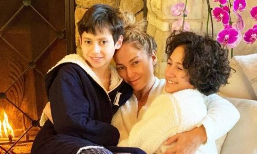 Inside Jennifer Lopez's twins Emme and Max's NY bedroom - complete with bunk beds