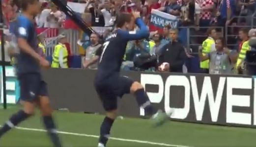 French player does Fortnite's 'Take the L' dance after World Cup goal