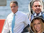 Andrew Cuomo's sister 'raised money for crooked ex-aide' - as governor is seen boarding helicopter