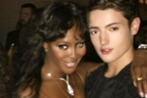Naomi Campbell pays tribute to late godson Harry Brant, 24, as he's laid to rest