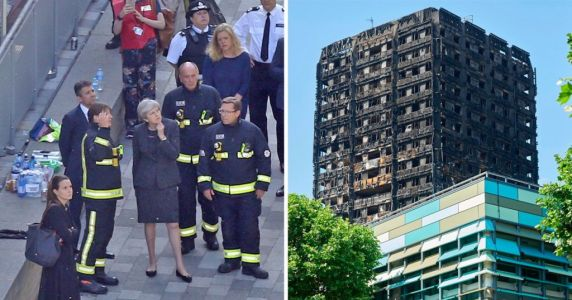 Theresa May, the Grenfell response is no success of yours