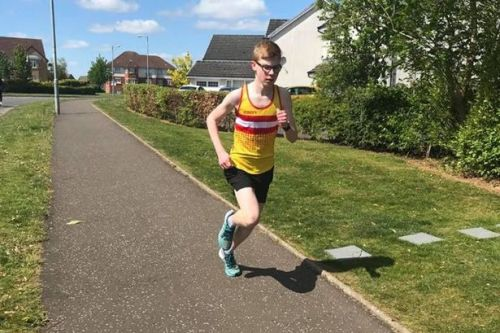 Law and District Athletics Club stars complete 'virtual race'