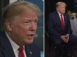 Trump says 'we're going to look' at entitlement reforms and could cut taxes for the middle class