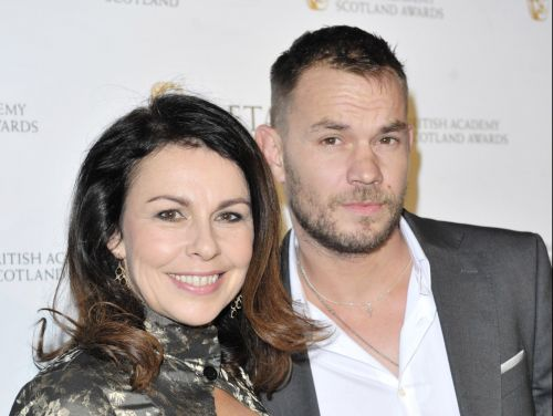 Benidorm star Julie Graham, 54, weds toyboy Davy Croket, 38 - four years after heartbreaking loss of her first husband