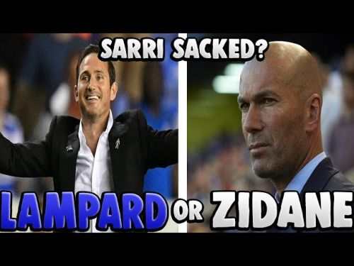 : Would Chelsea be better off with Zidane or Lampard