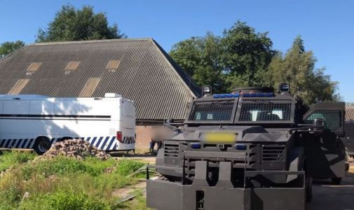Police arrest 17 after raiding largest cocaine factory ever found in Netherlands