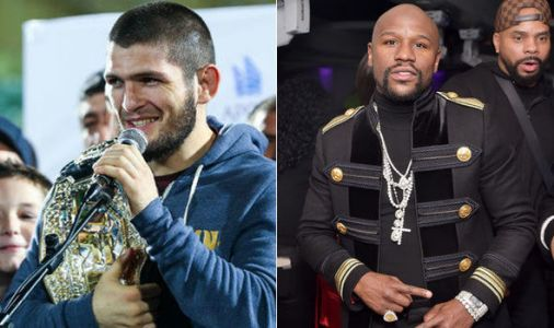 Khabib receives ultimatum from Floyd Mayweather over crossover fight: My way, my rules