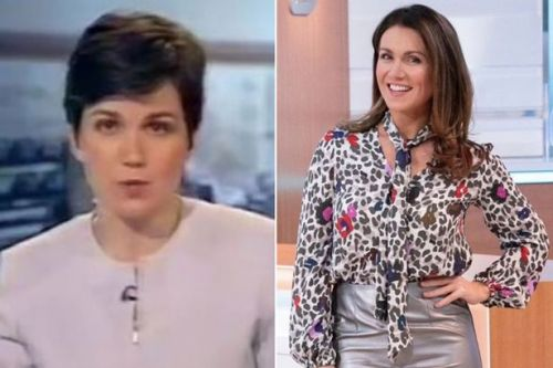 Susanna Reid shares epic throwback of her very first BBC appearance 20 years ago