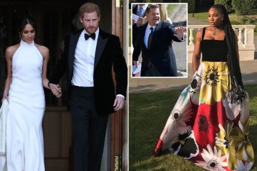 Inside the Royal Wedding evening reception hosted by James Corden with Harry and Meghan's first dance and fireworks