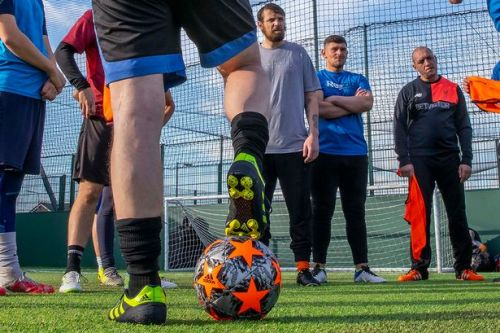 ADVERTORIAL: Behind-the-scenes of the 'mind-blowing' football league for homeless people