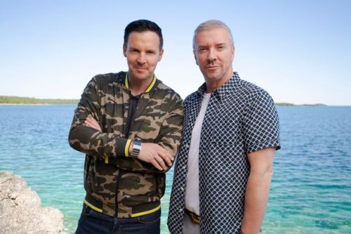 Scots design gurus Colin and Justin renovate pad from 5000 miles away via Zoom