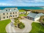 Cornish manor house boasting sea views and five bedrooms goes on sale for £3m