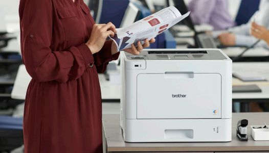 The cheapest color laser printer right now is a business model from Brother