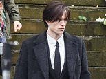 The Batman: Robert Pattinson is seen on set for FIRST time as he shoots funeral scene in Liverpool