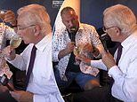 David Gower and Sir Ian Botham sign off after final Ashes Test on Sky by clinking wine glasses