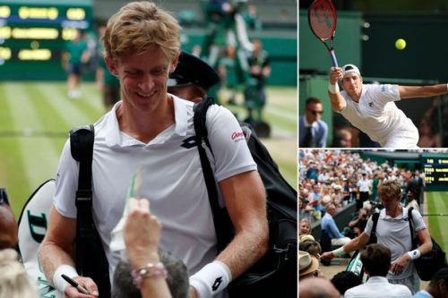 Incredible gesture by worn out Wimbledon tennis players Kevin Anderson and John Isner after longest semi-final in competitions history