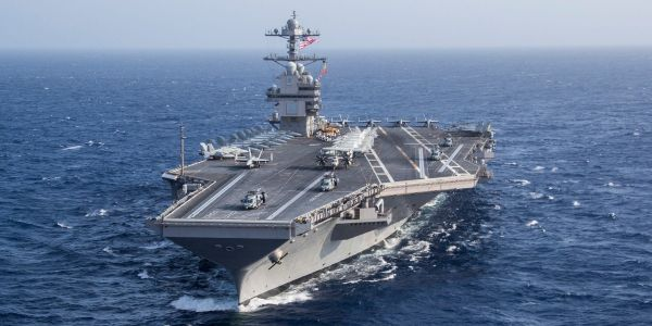 The Navy's newest aircraft carrier trained to lead defenses against enemy air attack for the first time