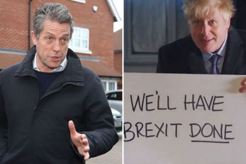 Hugh Grant points out massive problem with Boris Johnson's Love Actually rip-off